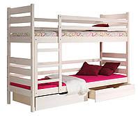 Двухъярусная кровать для детей Darek (трансформер, сосна)