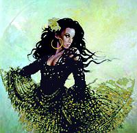 Схема для вышивки бисером Танцующая цыганка КМР 3170