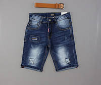 Джинсовые шорты для мальчиков S&D оптом, 8-18 лет. [14 лет]