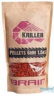 Пеллетс Brain Kriller (кальмар/специи) 6mm 1.5kg