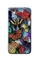 Чехол для Lenovo S960(тропические бабочки)