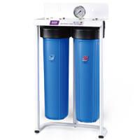 Фильтр бытовой для очистки воды двухступенчатый ВВ-20 PU908B2-BK1-PR-S-G
