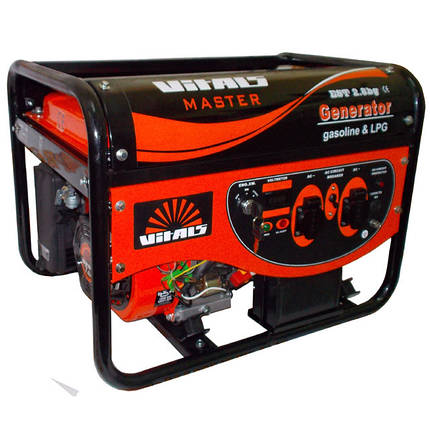 Газовый (Бензиновый) генератор VITALS MASTER EST 2.8 BG  , фото 2