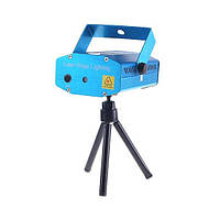 Лазерный проектор, стробоскоп лазер шоу с рисунком  HT-15B
