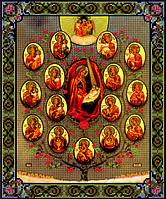 Схема для вышивки бисером Дерево жизни Божией Матери КМИ 3028