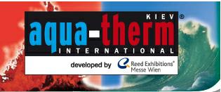 Наши достижения на выставке «Аква-Терм Киев 2012»