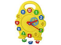 Игрушка часы для изучения времени Технок, развивающие игры