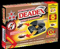Контейнеры ловушки от тараканов DEADEX/Дедекс, 6 дисков ОБОРОНХИМ