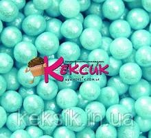 Драже блакитне цукрове перлове 3 мм 100гр