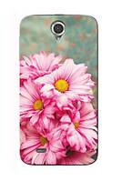 Чехол для Lenovo A850 (цветы)