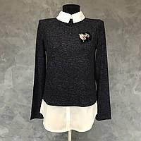 Женский свитер обманка.  Размер M, фото 1