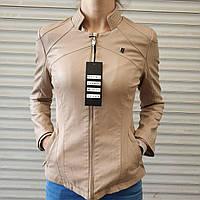 Куртка женская из экокожи LANMAS