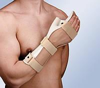 Бандаж на запястье Корректирующая пластиковая шина кисти с пальцами для реабилитации Orliman