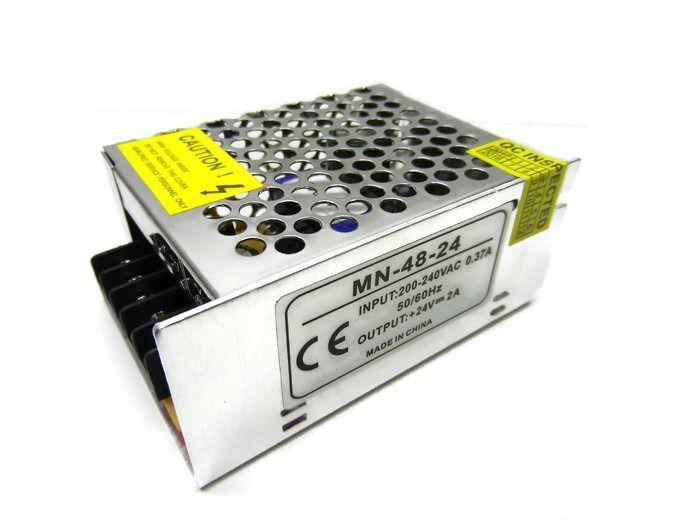Блок живлення PREMIUM SL-48-24 24В 48Вт 2А IP20 (перфорований) Код.59352