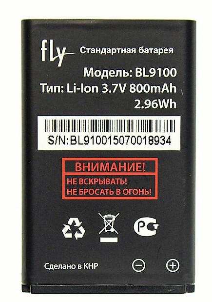 Аккумулятор Fly BL9100