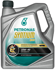 Полусинтетическое масло PETRONAS SYNTIUM 800 10W-40 (4л)