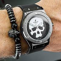 Наручные часы Hublot Skull Bang с черепом копия, фото 1