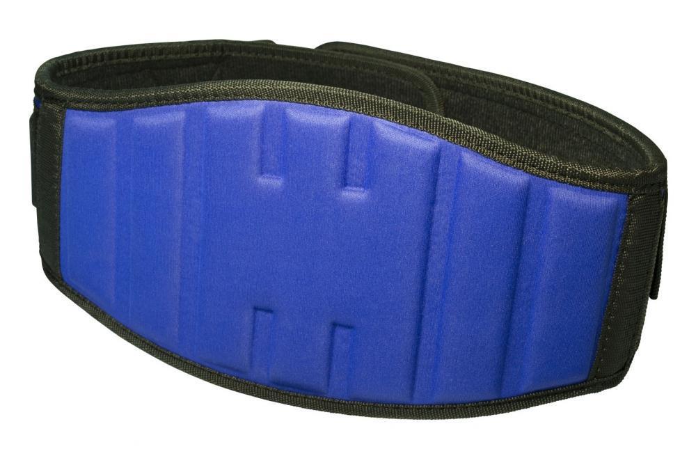 Пояс для важкої атлетики PowerPlay 5425 Синій (Неопрен) S