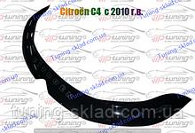Дефлектор на капот Citroen C4 Aircross (2012-) (Ситроен C4)