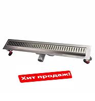 Линейный трап с решеткой Q-Tap 600х660 CRM
