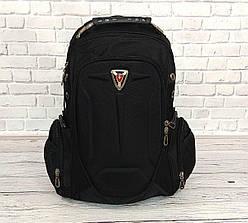 Вместительный рюкзак SwissGear Wenger свисгир Черный 35L s7655 black Vsem