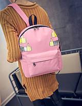 Стильный тканевый рюкзак класс лайк, фото 3