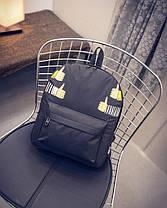 Стильный тканевый рюкзак класс лайк, фото 2