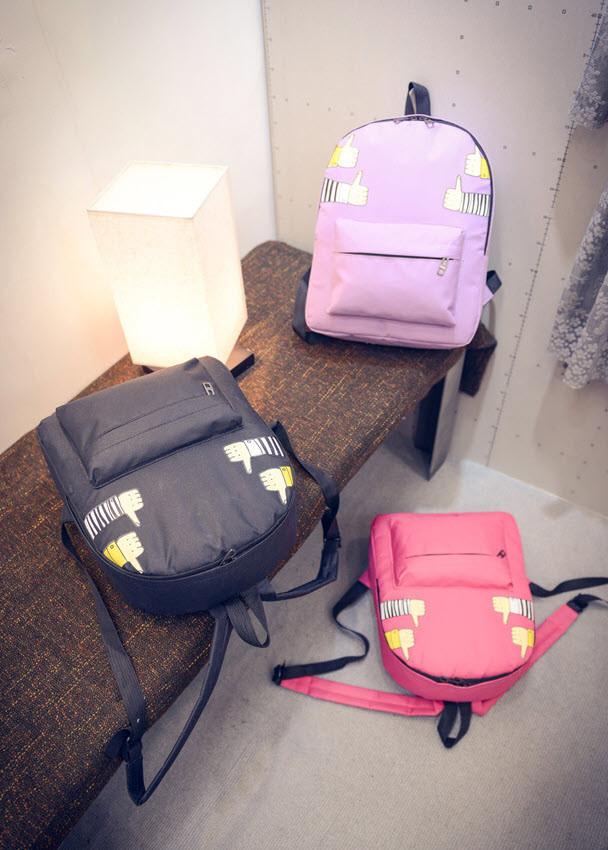 Стильный тканевый рюкзак класс лайк