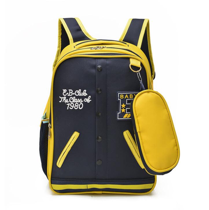 Стильный рюкзак в форме кофты бомбера с пеналом