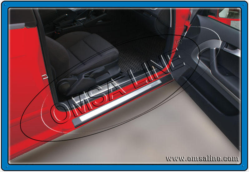 Накладки на пороги внутренние - Audi A3 2004-2012 гг.