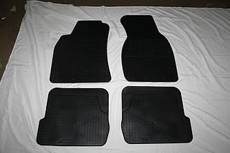Гумові килимки (4 шт, Stingray Premium) - Audi A6 C5 1997-2001 рр.