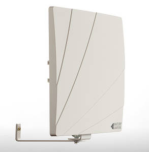 Антена для цифрового телебачення - зовнішня Біла