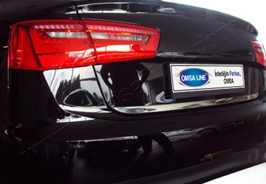 Кромка багажника (нерж.) - Audi A6 C7 2011+ гг.