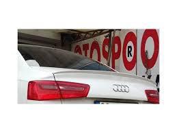 Спойлер (под покраску) - Audi A6 C7 2011+ гг.