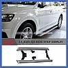 Боковые площадки OEM-V3 (2 шт., алюминий) - Audi Q3 2011+ гг., фото 5