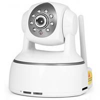 Поворотная ip-видеокамера wi-fi w 530, беспроводной web-интерфейс, 0,3мр, поддержка sd карт памяти до 32гб, ик