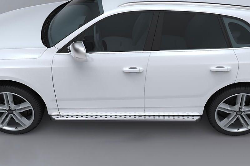 Бічні майданчики ABT (2 шт, алюміній) - Audi Q5 2008-2017