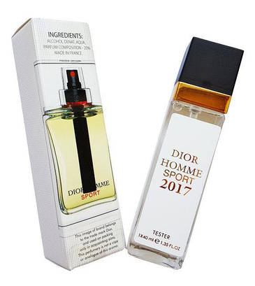 Dior Homme Sport 2017 Eau De Parfum тестер 40 мл продажа цена в