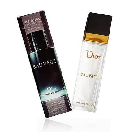 Dior Sauvage eau de parfum тестер 40 мл, фото 2
