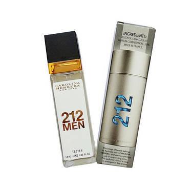Carolina Herrera 212 Men Eau De Parfum тестер 40 мл продажа цена в