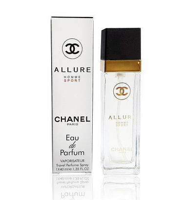 Chanel allure home sport eau de parfum тестер 40 мл, фото 2
