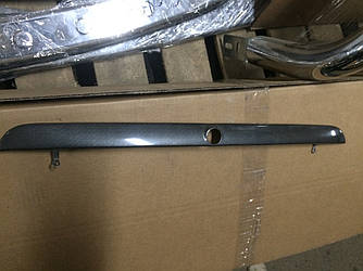 Під карбон Планка над номером (метал) - BMW 3 серія E-36 1990-2000 рр.