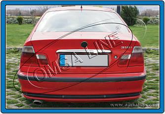 Хром планка над номером - BMW 3 серия E-46 1998-2006 гг.
