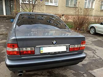 Хром планка над номером (нерж.) - BMW 5 серия E-34 1988-1995 гг.