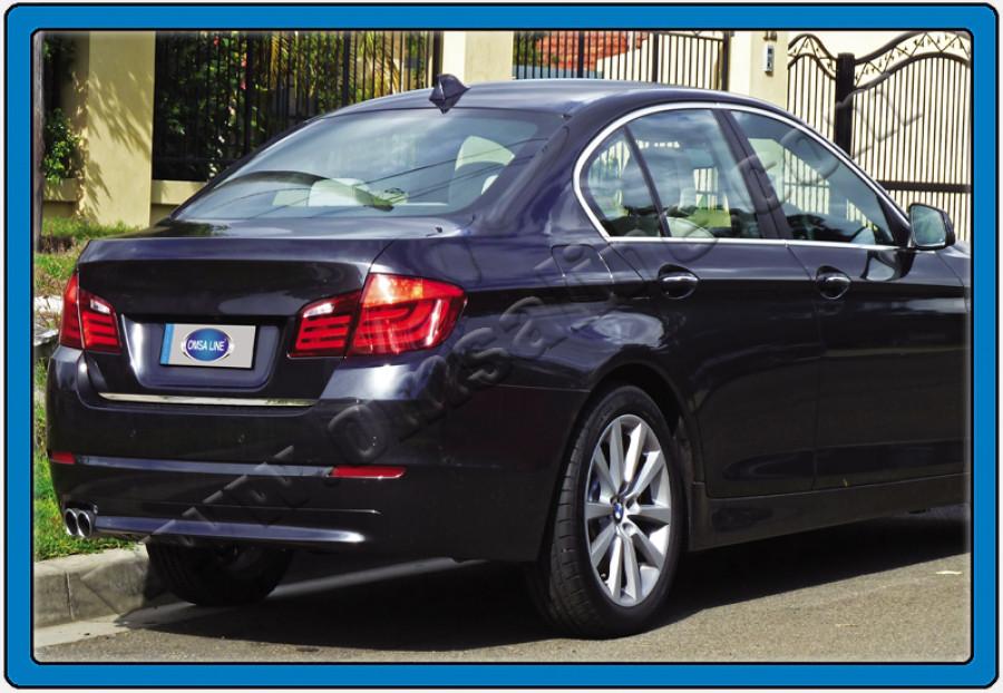 Кромка багажника (нерж.) - BMW 5 серия F-10/11/07 2010+ гг.
