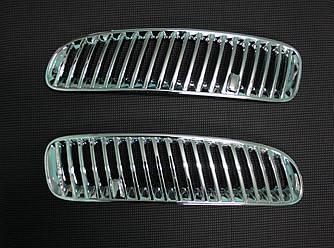 Накладки на воздуховоды (2 шт, пласт) - BMW X5 E-53 1999-2006 гг.