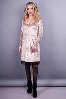 Платье Лия золотистий
