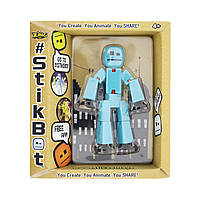 Фигурка для  анимационного творчества STIKBOT S2 (голубой)