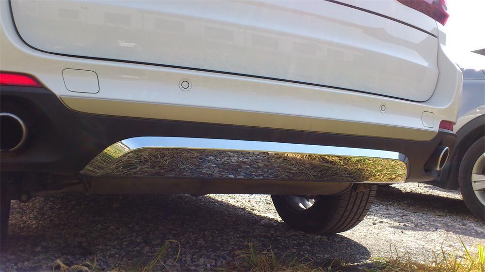 Передняя и задняя накладки (2 шт) - BMW X5 F-15 2013+ гг.
