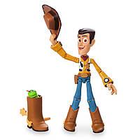 """Фигурка ковбой Вуди из м/ф """"История игрушек"""" Woody Action Figure - PIXAR Toybox Disney 13 см"""
